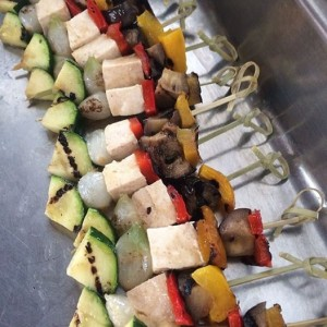 vegan skewers