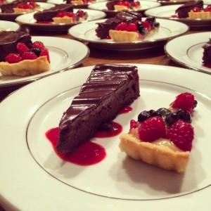 dessert duo